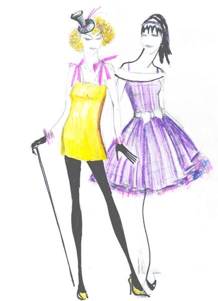 Выкройки и шитье вечерних платьев и маскарадных костюмов