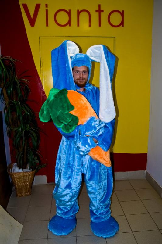 Ростовая кукла Заяц с морковью