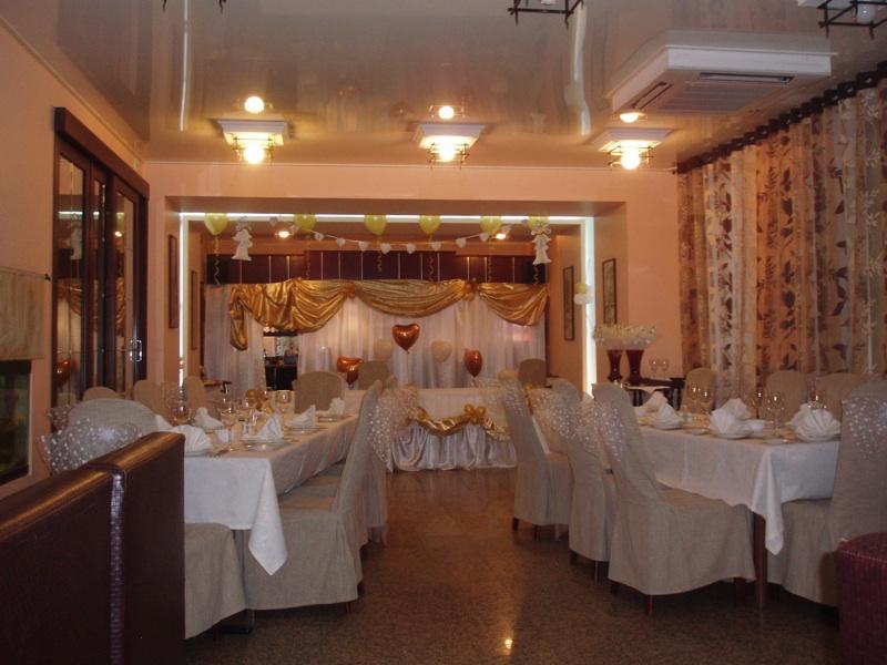 Декорирование зала